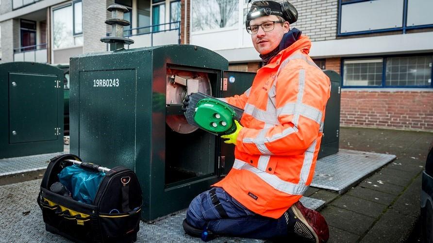 Den Haag zamelt afval slim in met sensoren in containers