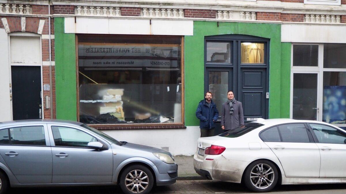 Van leegstaande winkel tot moderne appartementen aan de Beeklaan