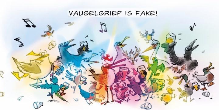 Vaugelgriep is fake!