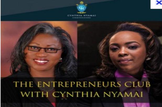 Entrepreneurs Club With Cynthia Nyamai