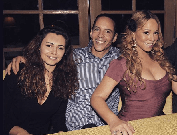 Ilana and husband Morgan Carey with pop diva sibling Mariah Carey.png