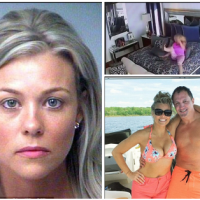 Florida millionaire, Scott Mitchell releases surveillance video of his ex-fiancee, Mary Hunt, 'beating herself up' after she claimed he attacked her