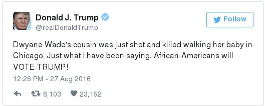Trump on the death of Nykea Aldridge2