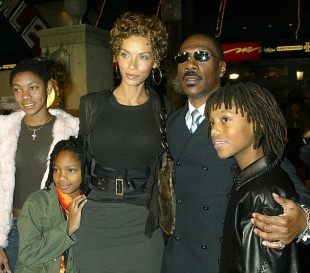 Nicole, Eddy Murphy and their 5 kids1