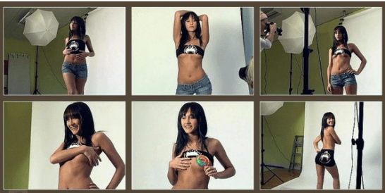 Racy images of Isabelle, who could receive a life sentence if convicted of being a drug mule, have now emerged