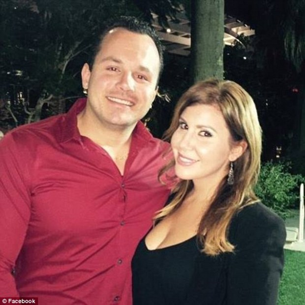 Derek Harryman and wife Lisa Naegle3.jpg