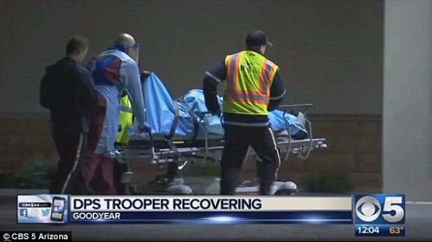 Arizona trooper trying to help accident victim shot in an ambush by a man who was then shot dead by another driver4.jpg
