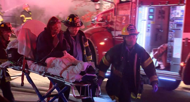 Survivor being rescued by Baltimore Fire and Rescue.png