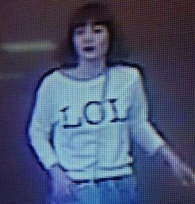 "An image released of one of the female suspects dubbed the  'LOL Assassin' shows her wearing a ""LOL"" top.jpg"