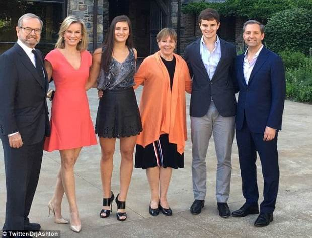 Dr. Robert C. Ashton Jr.[far right],Jennifer Ashton]second left], their daughter Chloe [third left], son, Alex [second right].jpg