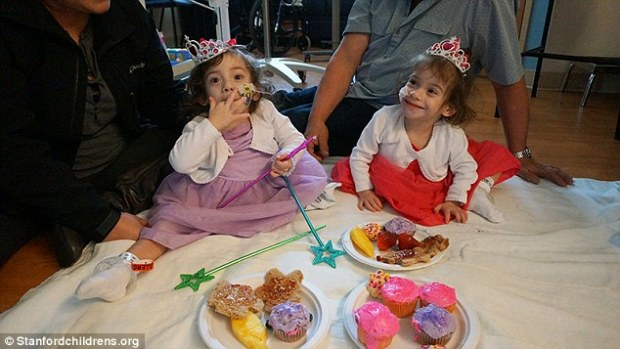 Eva and Erika Sandoval celebrate with a princess picnic in their ward .jpg