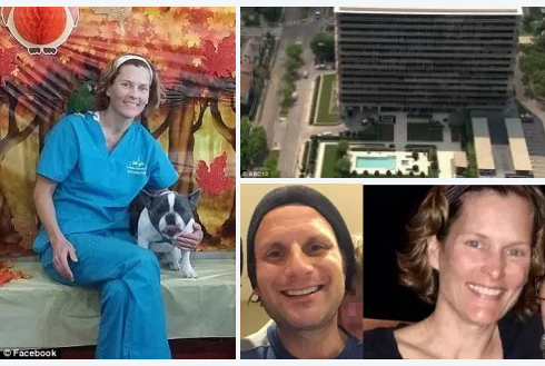 Houston veterinarian, Valerie Busick McDaniel,accused of hitring a hitman to kill her ex, killed herself Monday morning by jumping from the seventh floor of her condominium complex