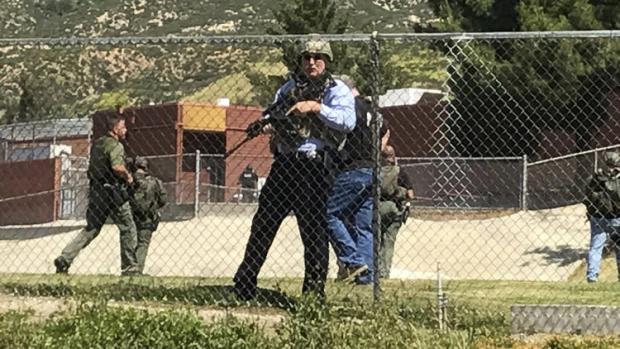 2 dead, two students injured at murder-suicide shooting inside North Park School Elementary School on Monday, in San Bernardino, Calif1