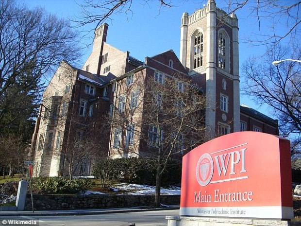 Record donor: In 2014 alone, Robert Foisie donated $40million bringing his lifetime total to $63million in donations to Worcester Polytechnic Institute, where he graduated in 1956