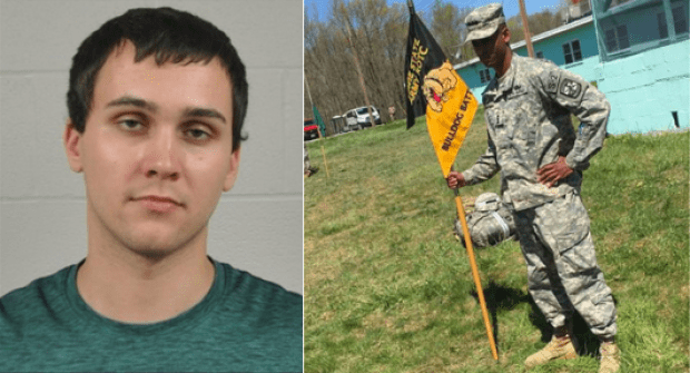 Alleged Neo-Nazi, Sean Urbanski [left], killed Lt. Richard Collins in College park,MD on Saturday, May 20.png