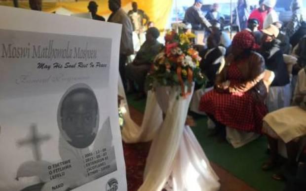 Funeral service of for slain teen Matlhomola Moshoeu in Coligny, SA .jpg