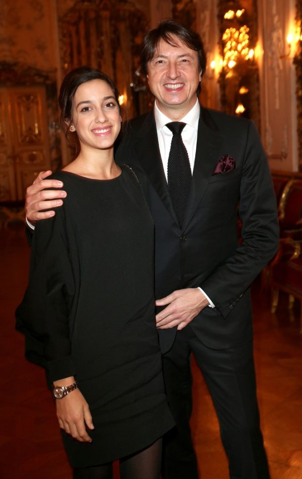 Gianvito Rossi and daughter Sofia.jpg