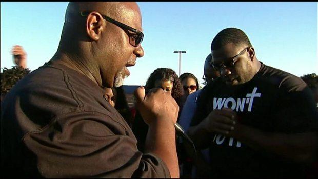 Prayer vigil for Jordan Edwards