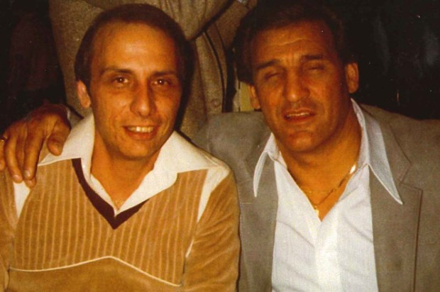 Vincent Asaro (right) with his cousin Gaspare Valenti i.jpg