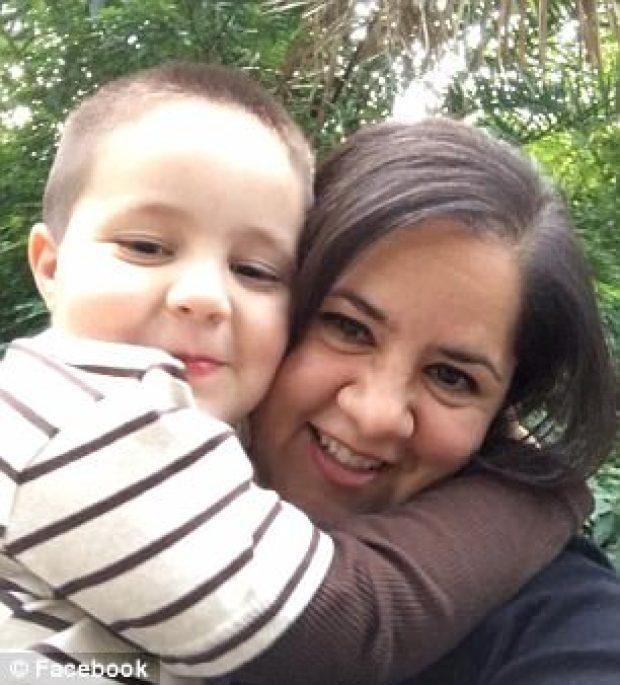 Aramazd Andressian Jr and mom Ana Estevez1