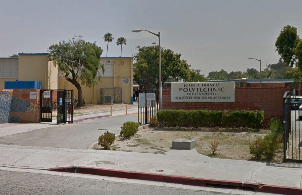 John H. Francis Polytechnic High School in Sun Valley, Calif