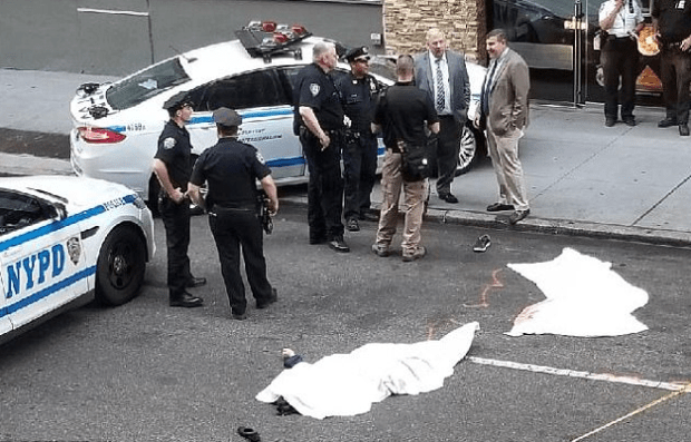 couple jumped to their deaths in Manhattan, July 28 1