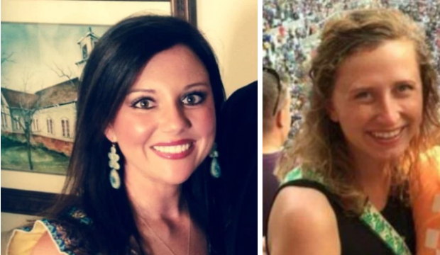 Jessica Edens [left] killed her ex-husband's girlfriend Meredith Leigh Rahme.png