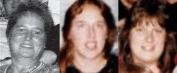 Julie Falzarano,[left] and her daughters Rhonda Herring [center], and Regina Herring [right].png