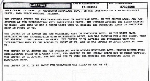 Palm Beach police report on Venus Williams accident.jpg
