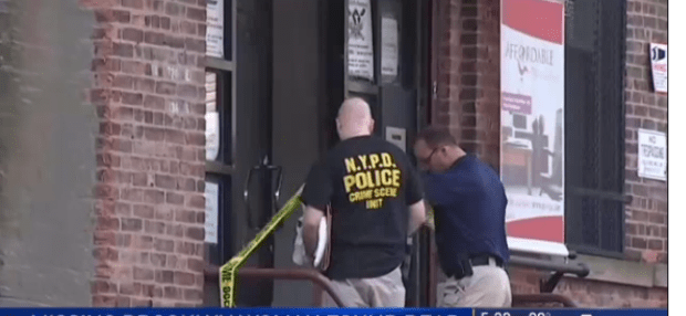 Police seal off the Bronx furniture warehouse.png