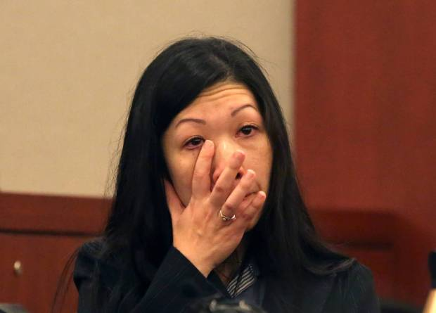 Suzan Wong, ex-wife of Dr. Binh Chung weeping in court while giving testimony 1.jpg