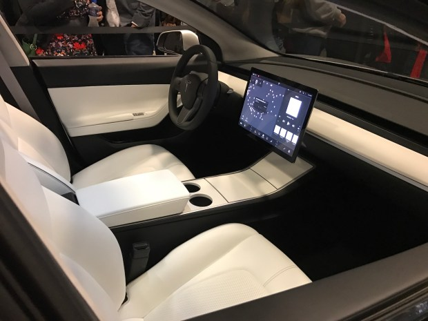 Tesla Model-3 car 5