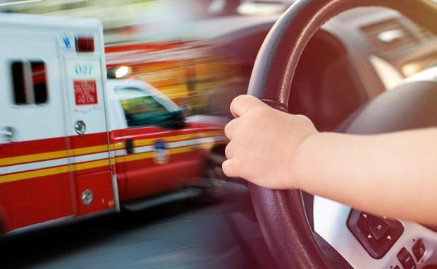 The girl was sitting on her passed-out father's lap, operating the vehicle. After she drove through a red light as she approached the Belt Parkway.jpg