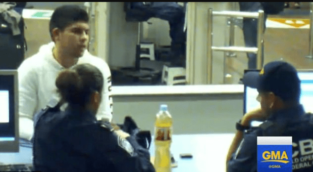 Two border patrol officers encouraging Mexican teen Cruz Velazquez (above) to drink from two bottles of liquid meth at the U.S.-Mexico border crossing just hours before he died in 2013 - 1.png