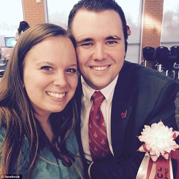 English teacher and church leader Jared Anderson, with his wife 1