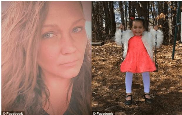 Lee-Ann Rickheit (left) kidnapped daughter Ella Abbott 1.png