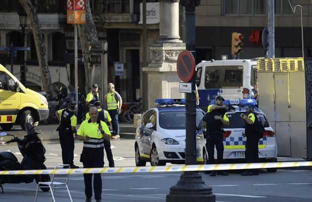 Police attending the scene in Barcelona.png