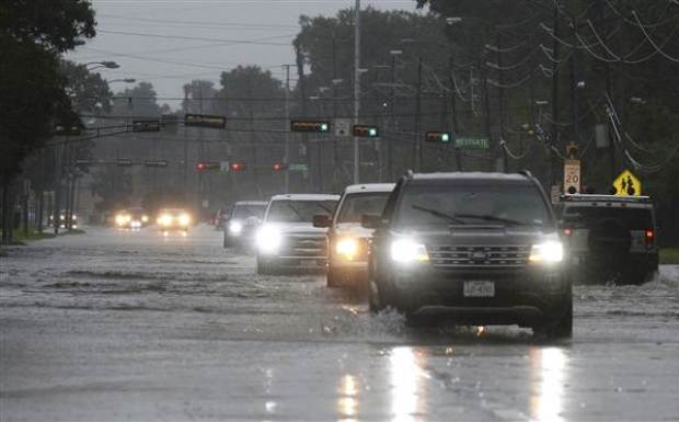 Second landfall of Hurricane Harvey dumped several inches of water over Beaumont and the rest of Southeast Texas1.jpg