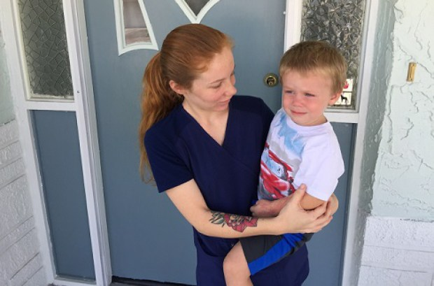 Emily Baily and her son 3