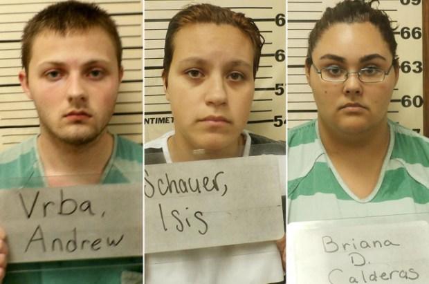 [L-R] Andrew Vrba, Isis Schauer and Briana Calderas 1
