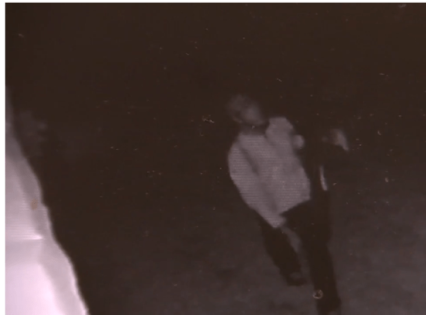 Theo Moore killer stealing victim's TV
