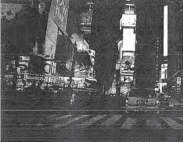 One of the suspects El Bahnasawy, sent this image of Times Square to an undercover posing as an ISIS operator, writing: 'we seriously need a bomb at times square... Look at these crowds of people!.png