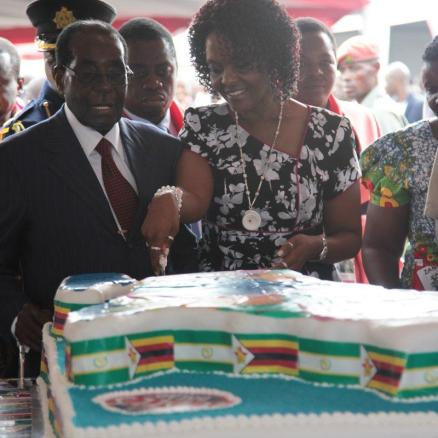 Robert Mugabe 92nd birthday 4
