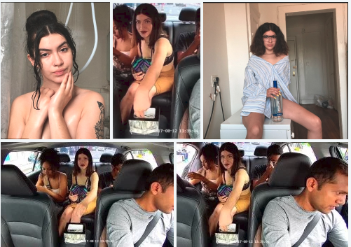 Brooklyn woman, Gabrielle Canales identified as scantily-clad passenger, who filmed brazenly stealing money from her Uber driver's tip jar