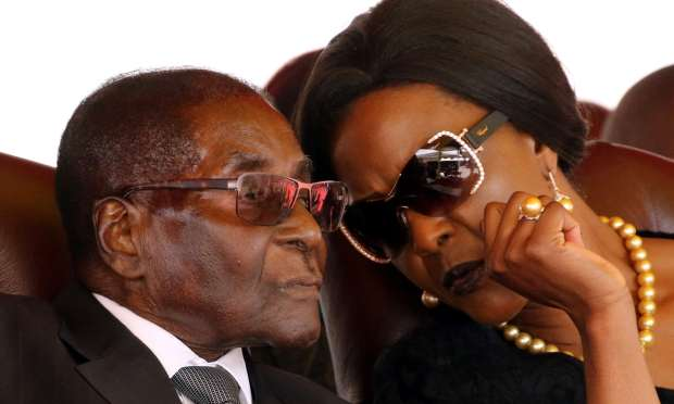 Robert and Grace Mugabe, Zimbabwe First Couple 1.jpg