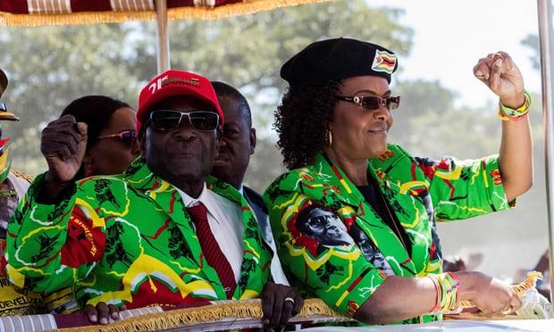 Robert and Grace Mugabe, Zimbabwe First Couple 2