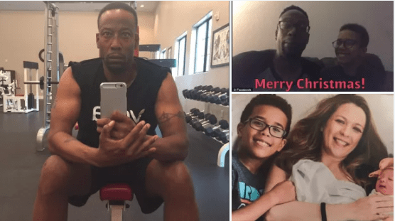 Christmas day massacre! Celebrity vegan chef and author, Anthony Ross, posted a Christmas Day song with his son on Facebook an hour before fatally shooting Nigel, 11, 10-month-old daughter, and estranged wife, Iris