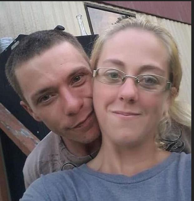 Earl Kimrey and Kristy Woods [Mariah's mother] who told police he was the last to see Mariah alive.JPG