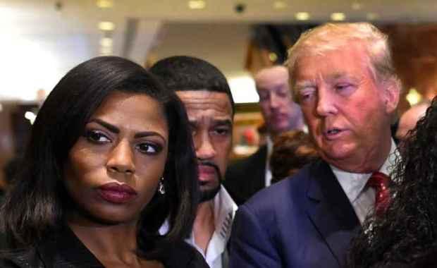 Omarosa and Donald Trump 1
