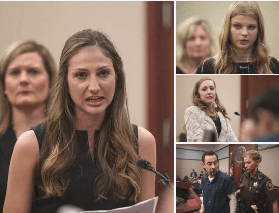 Disgraced Olympic team doctor, Larry Nassar, confronted by accusers, over 120 sexual abuse victims, parents speak out during sentencing hearing